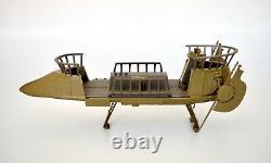1984 Star Wars Potf Tatooine Skiff Vintage Kenner Vehicle Mint With Box, Carte