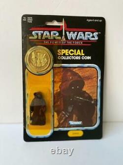 1984 Star Wars Vintage Potf Jawa Moc Punched Excellent Cond. 92 Retour