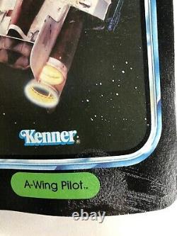 1984 Vintage Kenner Star Wars Figure D'action Potf A-wing Pilot Moc Unpunched