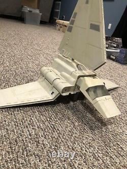 1984 Vintage Star Wars Imperial Shuttle La Plupart Complet Kenner Original