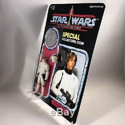1985 Star Wars Vintage Luke Skywalker Stormtrooper Avec Coin Potf Moc Sur Mesure