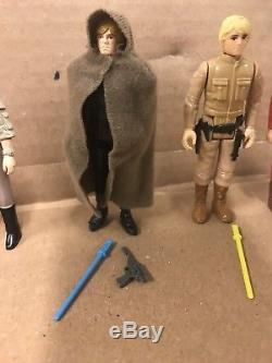 1985 Vintage Star Wars Potf 17 Dernières Figurines Du Lot Qualité Afa - Autres