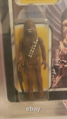2 Moc Lily Ledy! Imperial Commander Cas85 Chewbacca 75. Afa IL Wars Vintage Étoiles