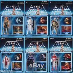 2012 Sdcc Comic Star Wars Vintage Carbonite Chambre Ensemble De 7 Figurines