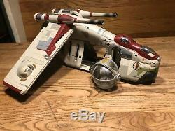 2013 Star Wars Vintage Collection Attaque De La République Clones Gunship Aotc