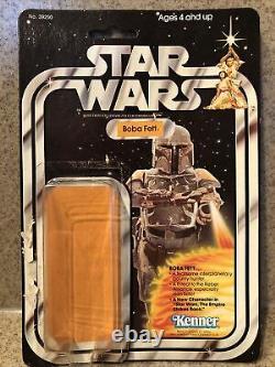 21 Retour Boba Fett 1979 Vintage Kenner Star Wars Cardback Avec Bulle