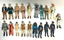 31 Figurines D'époque Kenner Star Wars Empire Strikes Back, Coffret Esb & Lot D'armes