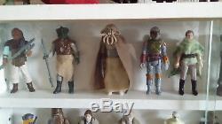 33 Star Wars Vintage Figuren! Original Waffen Und Zubehör! Aus Der Vitrine