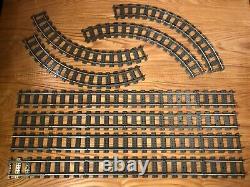5 Pi Carré Voie Ferrée Du Rail Métallique 9v Loop Lego, 24 Ligne Droite 16, 4515 4520