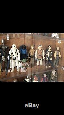 98 X Différentes Figurines Kenner Vintage Star Wars (armes D'origine, Les 17 Dernières Rares)