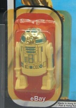 Afa 70 Vintage Kenner Star Wars De L'action R2-d2 Figure Moc Jouet 77 Dos