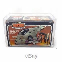 Afa Graded Star Wars Slave 1 Boba Fett 1981 Vintage, Mandalorien Kenner Nr