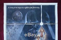 Affiche De Film Originale De Star Wars, 1977, Style A 1sh Un Nouvel Espoir