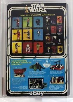 Bannière Boba Fett Afa 40 G De 1979 Vintage Kenner Star Wars 21 Arrière-b # 12117027