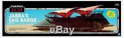 Barge Sail Star Wars Vintage Collection Jabba Le Khetanna + Yakface + Etanche Livre