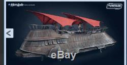 Barge Voile Nib Haslab Khetanna Jabba Star Wars Vintage Avec Potf Yak Face & Livre