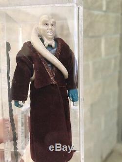 Bavoir Star Wars Fortuna Lily Ledy Vintage Afa 85 Cape Rouge