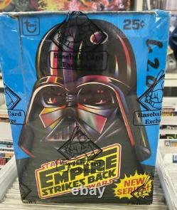Bbce Millésime Scellé 1980 Topps Star Wars Empire Strikes Retour Boîte En Cire Série 2
