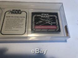 Boba Fett Mail Away Mailer Afa 70 - Vintage Star Wars Perfect Case 21 Retour