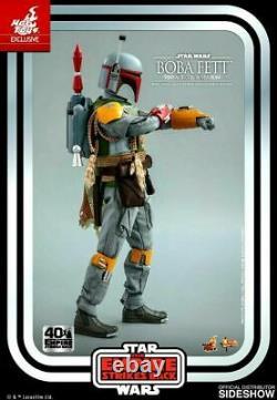 Boba Fett Star Wars Esb Vintage Couleur 1/6 Figurine Hot Toys Mms571