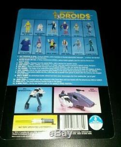 C-3po Droides Cartoon Wars Vintage Étoiles Kenner 1985 Original