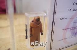 Capot De Vinyle Jawa Ukg Vintage Star Wars 85% Notée Afa / Cas