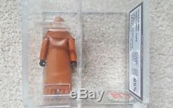 Capuchon De Vinyle Vintage Star Wars Capuchonné Jawa Figurine D'action Ukg Classé 85% Not Afa