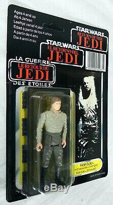 Chambre Carbonite Star Wars Han Solo Vintage Logo Rotj Moc Tri Vintage Potf 1984 1985