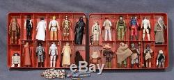 Chiffres Vintage Star Wars 26 Avec Le Premier 12 De 21 Et Rare Rotj Case-original