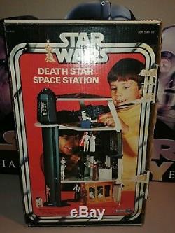 Coffret De La Station Spatiale Canadienne De La Station Spatiale Death Star Vintage Kenner 1977