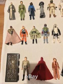 Collection Star Wars Vintage 17 Derniers Lots