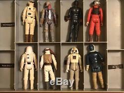Collection Star Wars Vintage Lot First 79 Avec 2 Étuis Et Accès