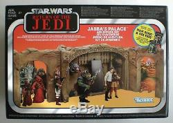 Collection Vintage Palace Playset Star Wars Jabba Retour Du Jedi Ue Hasbro