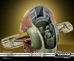 Collection Vintage Star Wars 3.75ésclave De Véhicule Figure 1 Un Boba Fett En Stock