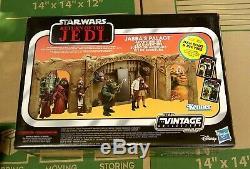 Collection Vintage Star Wars Jabba's Palace Ensemble De Jeu Walmart Solo Ree Yees Sdcc