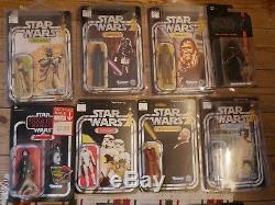 Collection Vintage Star Wars (plus De 40 Chiffres) Nr Neuf Dont 21 Premiers Rare