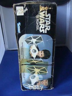 Combattant Tie Fighter Star Wars Vintage Avec Boîte À Inser