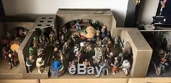 Diorama De Palais De Jabbas De Haute Qualité Fait Sur Commande De Haute Qualité Pour Le Modèle 3,75 Star Wars Vintage