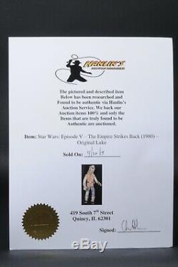 Écran Star Wars Vintage Usagé Luke Hoth (restauré)