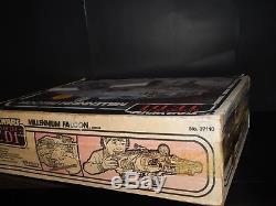 Electronique De Travail Vintage Star Wars Rotj Millennium Falcon Avec Boîte