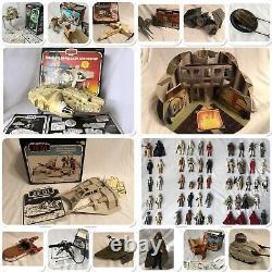 Énorme Collection Vintage Star Wars