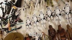 Énorme Lot De 125 Figurines D'action Star Warsvintagelegacysagahasbrokennerblack