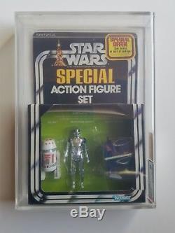 Ensemble De 3 Droïdes Kenner Star Wars 1978, Ensemble Spécial 3 Figurines Spéciales Afa 60