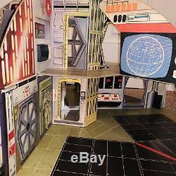 Ensemble De Jeu Complet Palitoy Death Star 1977 Complet En Bon État