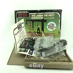 Ensemble De Jeu D'action Jabba The Hutt Dungeon Vintage Star Wars