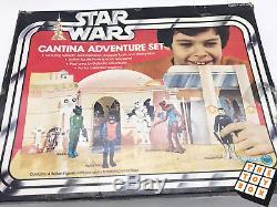 Ensemble De Jeu D'aventures Vintage Star Wars Anh Cantina Bleu Snaggletooth