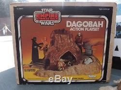 Ensemble De Jeu Dagobah Vintage Star Wars Esb Complet Avec Boîte Et Instructions