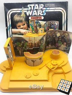 Ensemble De Jeu Palitoy Cantina Vintage Star Wars Anh En Boîte