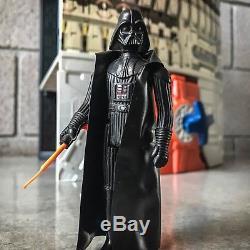 Ensemble De Jeu Vintage Star Wars Death Star Avec Boîte & Mousse + Figurine Dark Vador Bonus