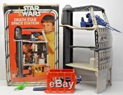 Étoile De La Mort Vintage Star Wars Playset Kenner Avec Boîte